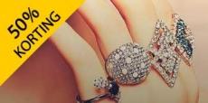 Tot 50% korting op sieraden van It's Beautiful