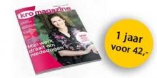 1 jaar KRO Magazine voor 42,-