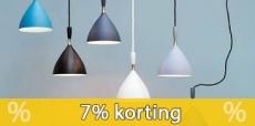 7% korting bij Lampen24
