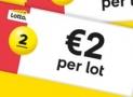 Met €2 kans op miljoenen bij Lotto