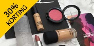 30% + 15% EXTRA korting op MAC make-up