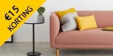 Krijg €15 korting op design meubels van Made.com