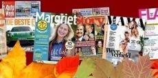 Krijg €10 korting op tijdschriften van Sanoma