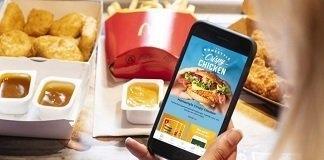 McDonald's coupons via de app