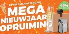 Mega nieuwjaar opruiming bij Cameraland tot 80% korting