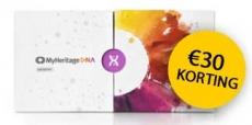 Krijg €30 korting op DNA kit van MyHeritage