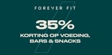 35% korting op sportvoeding, bars en snacks