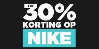 Tot 30% korting op NIKE bij JD Sports Korting.nl