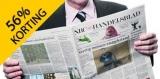 Tot 56% korting op NRC Handelsblad abonnementen