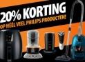 Krijg 20% korting op alles van Philips