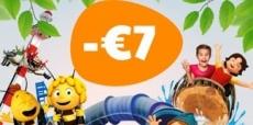 Je krijgt €7 korting bij Plopsaland