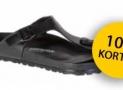 10% EXTRA korting op slippers, sandalen en instappers