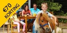 €70,- korting op 3-daags Ponyparkcity weekend!