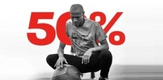 50% + 25% EXTRA korting bij Reebok