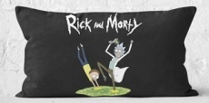 30% korting op Rick and Morty kussens