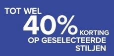 SALE bij Converse met 40% korting