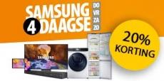 20% korting op Samsung producten bij Expert