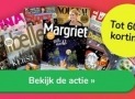 Krijg tot 60% korting op tijdschriften van Sanoma