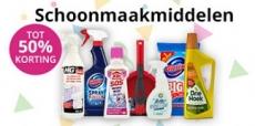Tot 50% korting op schoonmaakmiddelen