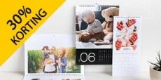 30% korting op kalenders en agenda's voor 2020