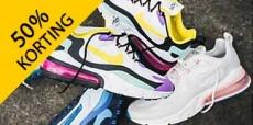 Sale op de schoenencollectie van Snipes