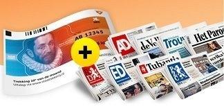 90% korting op de krant + gratis 1/5 Staatslot