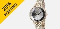 15% korting op Swarovski horloges