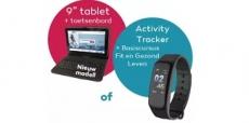 Gratis tablet of activity tracker bij NHA