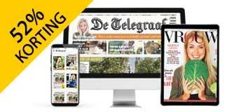 1 jaar De Telegraaf digitaal met 52% korting