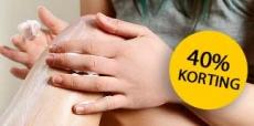 40% korting op bad, body en haarverzorging bij The Body Shop