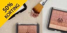 50% korting op skincare, make-up en parfum van The Body Shop