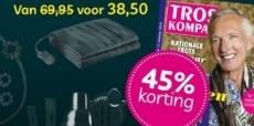 45% korting op Troskompas + cadeau naar keuze!