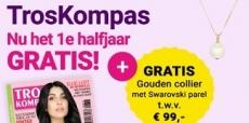 Troskompas 50% korting + gratis gouden collier