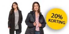 20% korting op jassen van Ulla Popken met kortingscodes