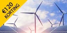 Bespaar tot €120 op energie