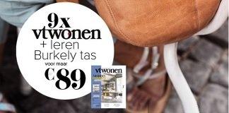 9x vtwonen + leren Burkely tas samen voor €89