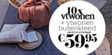 53% korting op 10x vtwonen + gratis buitenkleed