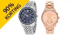 Tot 90% korting op horloges bij Watch2day