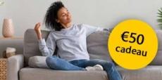 Gratis HEMA cadeaukaart t.w.v. €50 bij Woonverzekering