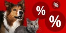 25% korting op a-merk dierenvoeding